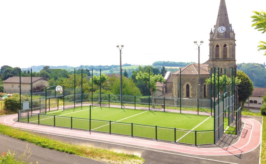 City stade sur mesure fabrication française - barreaux