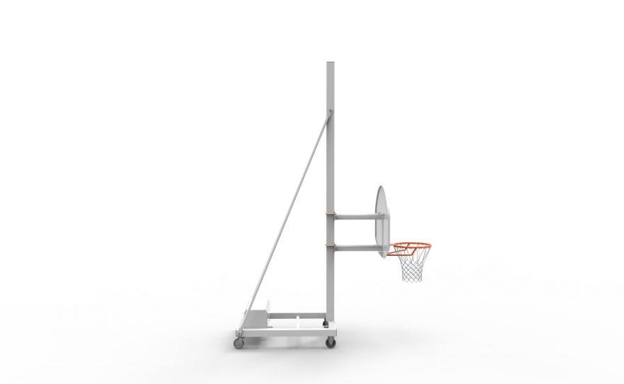 But de basketball mobile avec tête fixe hauteur 120