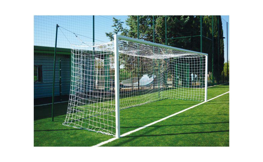 Cage de football à sceller Metalu Plast sport nature