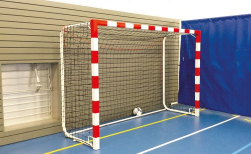 Steel handball goal for competition