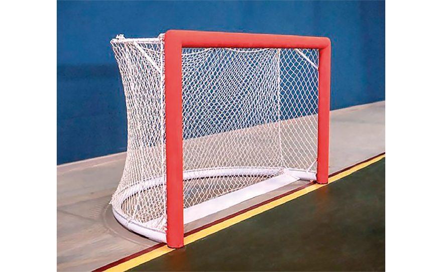 Cage de rink hockey avec jonction en aluminium Metalu Plast