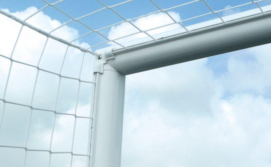 Corner cage de foot avec filet intégré Metalu Plast