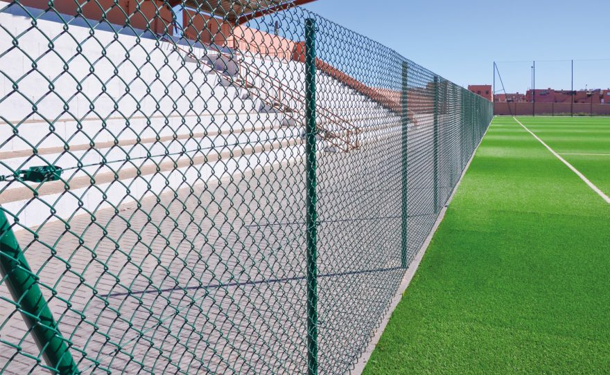 2m single twist mesh, easy to install and economical Metalu Plast