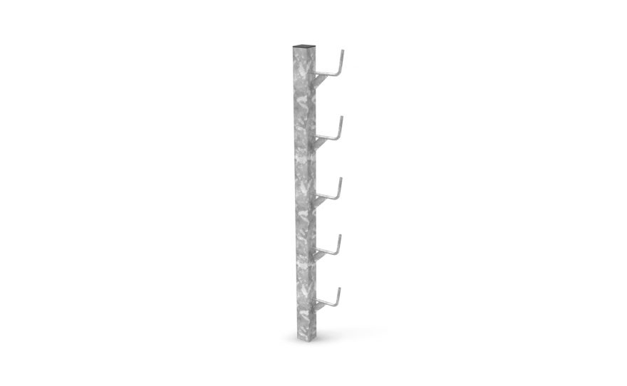 Socketed racks for rugby post