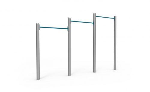 Barres de traction gamme Inferno Metalu Plast pour le street workout