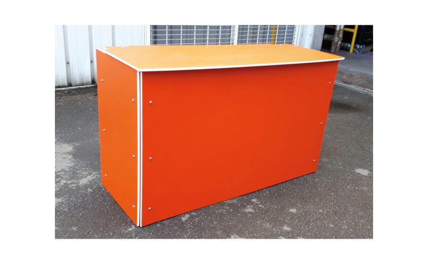 Closed storage box Metalu Plast manufacturer of sports equipment