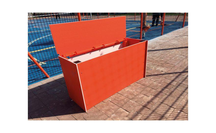 Open storage box Metalu Plast
