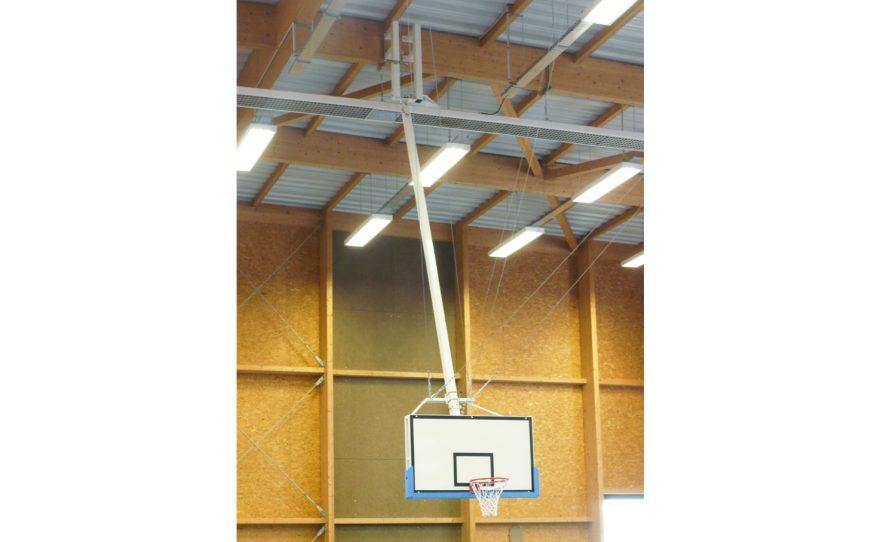 Roof mounted basket custom made by Metalu Plast