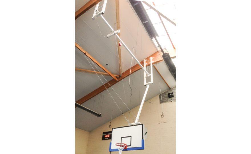 Roof mounted basket custom made Metalu Plast