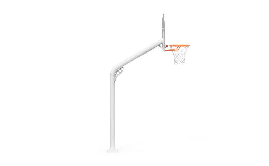 But de basket extérieur renforcé tube rond de profil