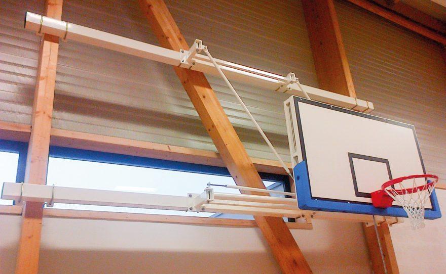 Panier de basket mural pour la compétition fabrication spéciale sur mesure Metalu Plast