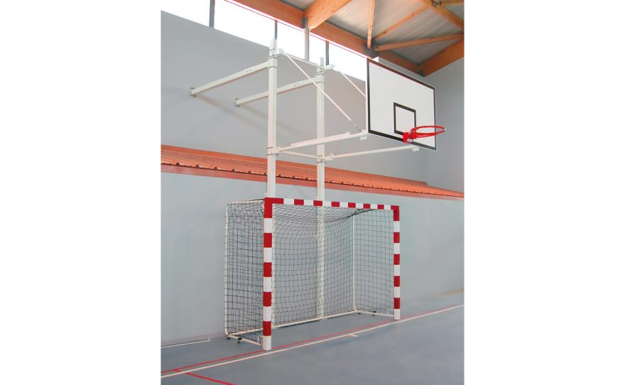 Wall basketball hoop custom made for competition by Metalu Plast