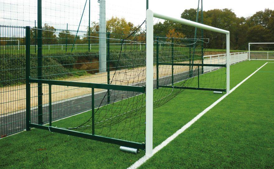 Cage de foot à 8 repliable en aluminium modèle San Siro Metalu Plast