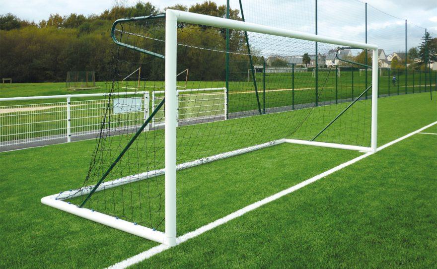 Transportable 8-a-side football goal in aluminium Metalu Plast