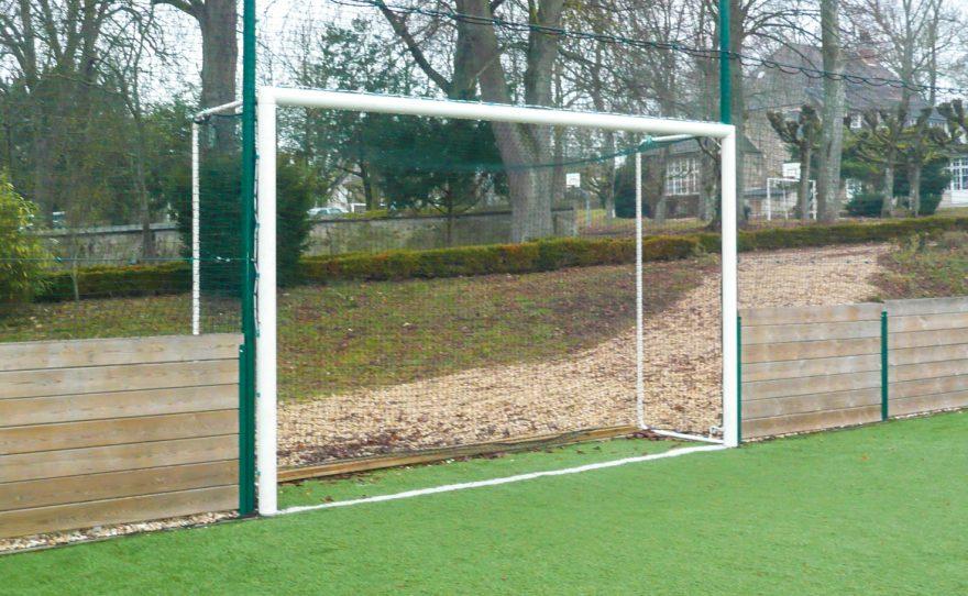 Cage de football en aluminium sur mesure Metalu Plast équipement sport