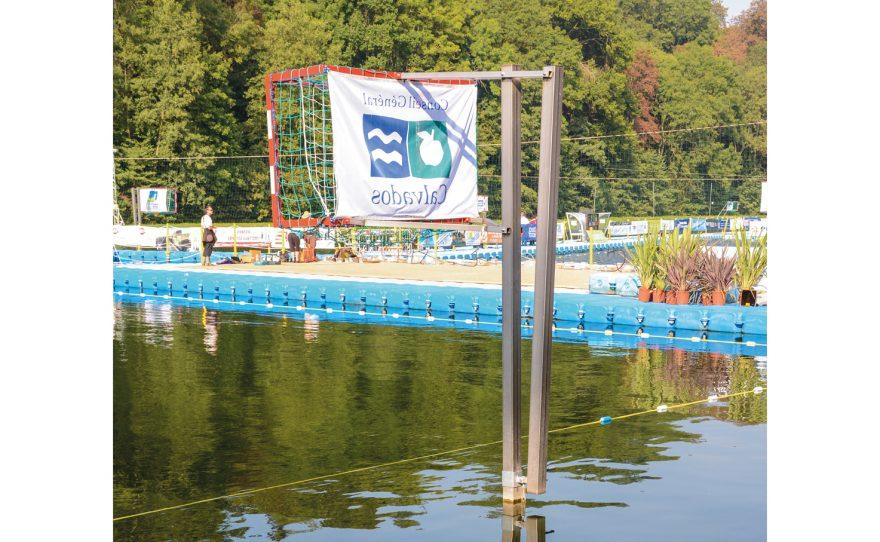 But de kayak polo sur poteau Metalu Plast sport d'eau