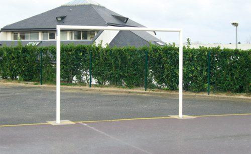 But mixte handball football acier sendzimir jonction aluminium