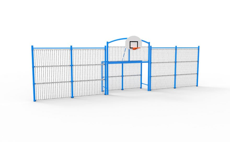 Multisport pediment classic 12 model with bar panels Metalu Plast