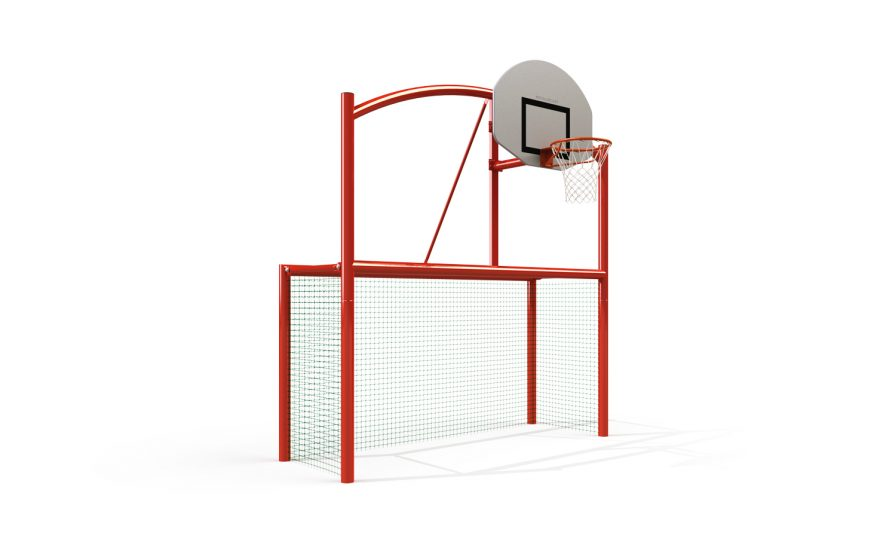Multisport goal the classic net with net for the goal Metalu Plast