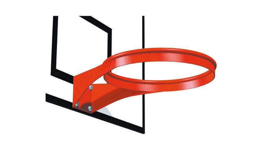 Basketball ring without net Metalu Plast basket equipments