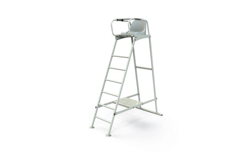 équipement de tennis chaise d'arbitre acier plastifié