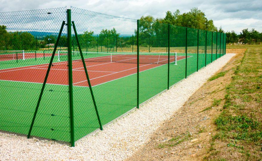 tennis fence grill Metalu Plast