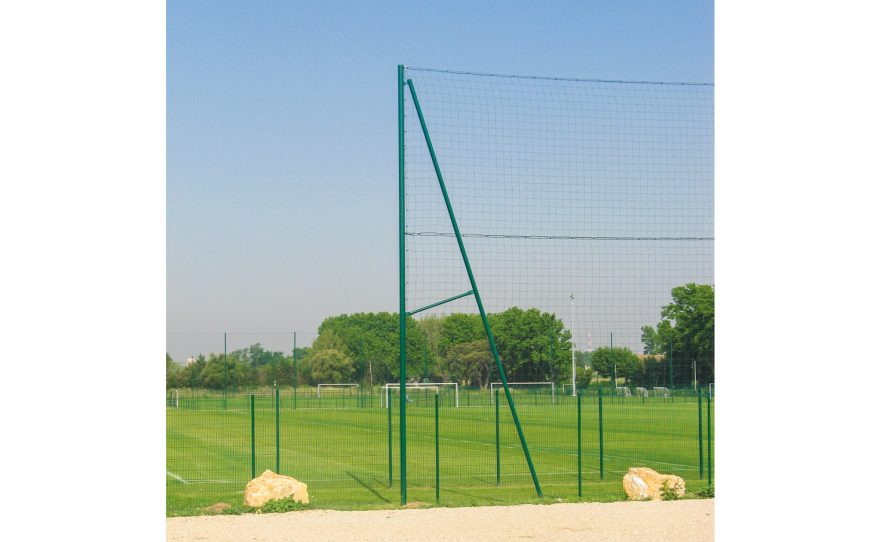 outdoor sport field with fence Metalu Plast