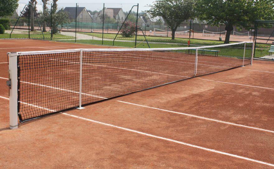 Filet de tennis pour la compétition Metalu Plast équipement sportif