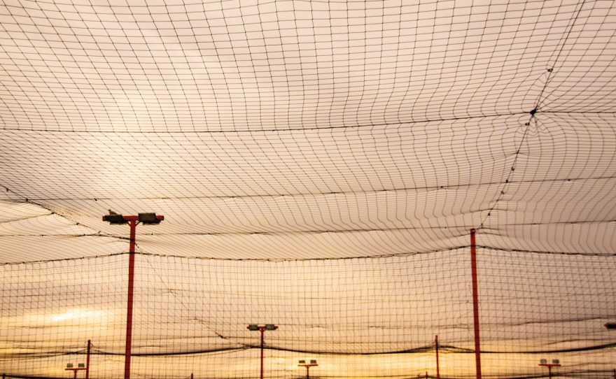 Roof ball-stop net Metalu Plast