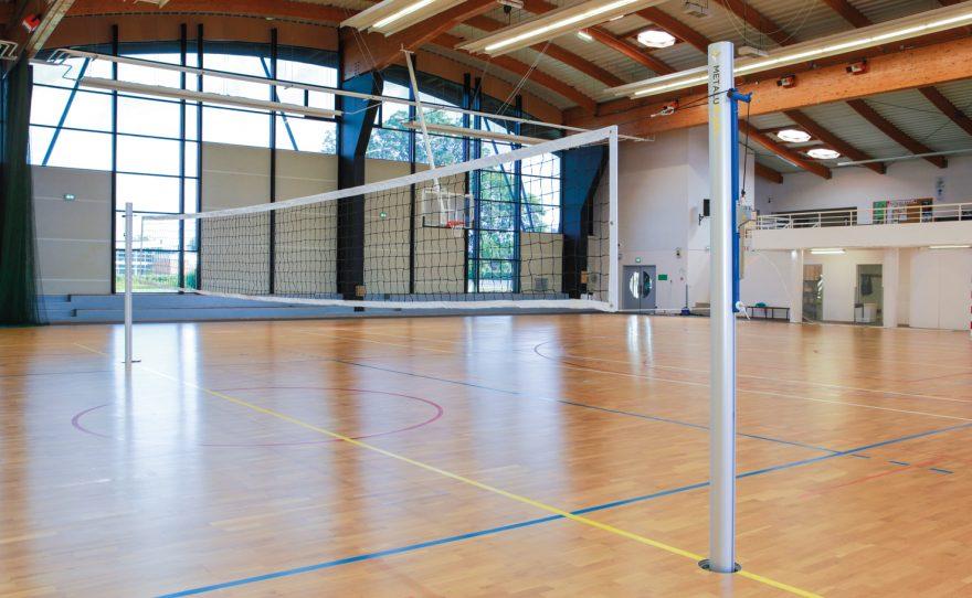 Filet volley ball Metalu Plast matériel sportif
