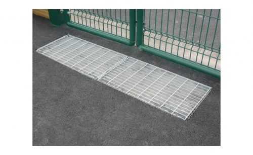 Shoes scrapper galvanized duckboard Metalu Plast