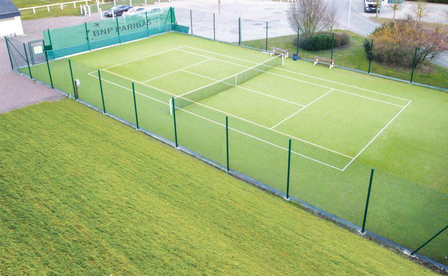 Kit clôture de tennis Metalu Plast