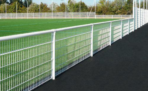 Welded mesh handrail dB Lock system Metalu Plast