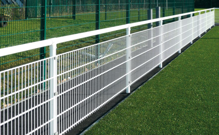 Welded mesh handrail anti-noise system dB Stop Metalu Plast