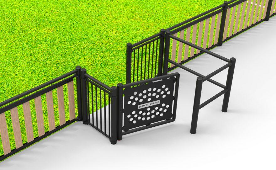 Passage pour personne à mobilité réduite tms Boréal Metalu Plast