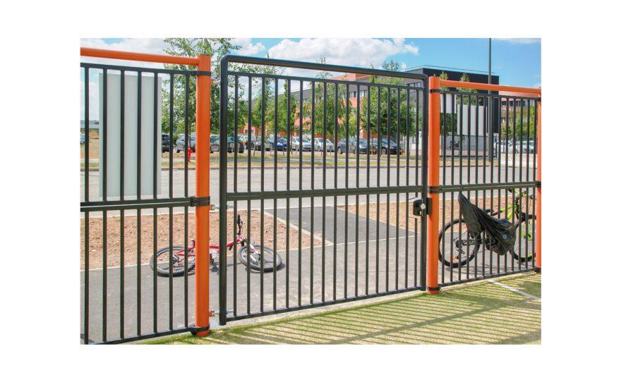 Single door gate multisport playground Deauville Metalu Plast