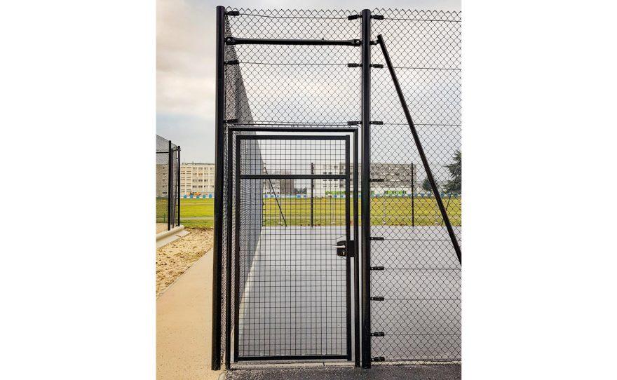 Porte de terrain de Tennis Metalu