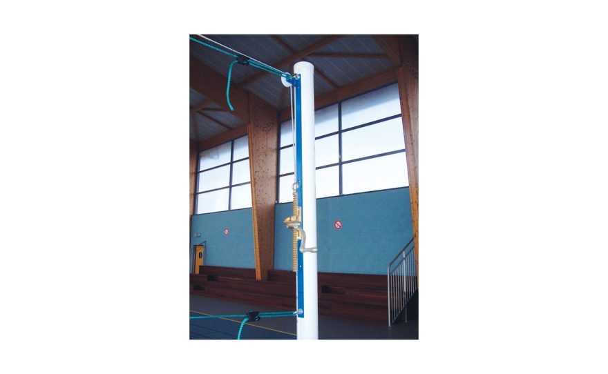 Metalu Plast volley ball posts in reinforced aluminium for training