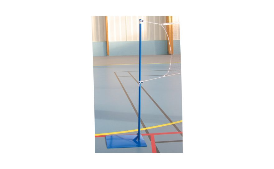 Economic badminton post to ballast Metalu Plast