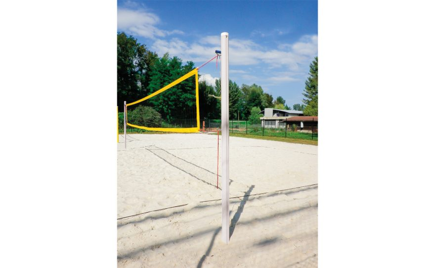 Beach volley post for competition made in aluminium Metalu Plast