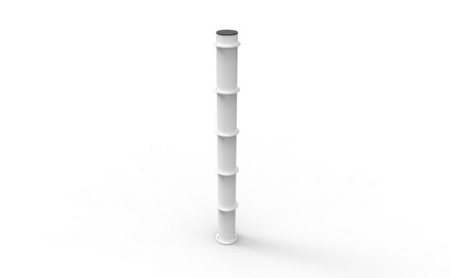 Poteaux de slackline Metalu Plast matériel de sport