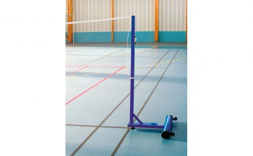 badminton post for leisure with base to be ballasted Metalu