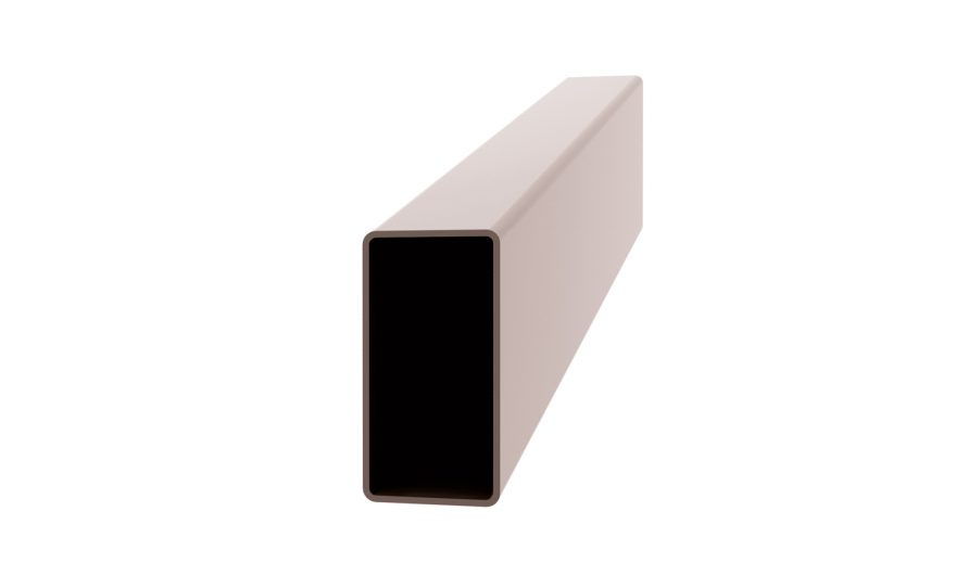 Section tube rectangulaire