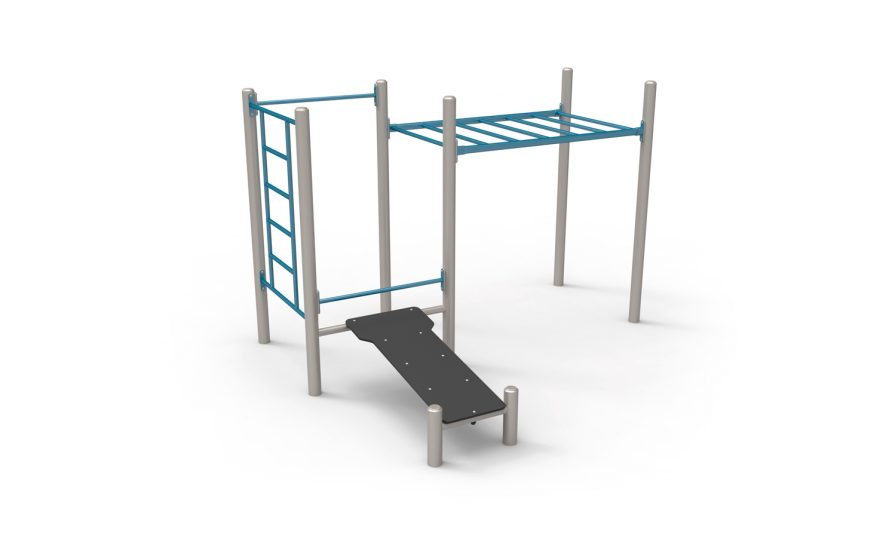 The Six pack module for street workout Metalu