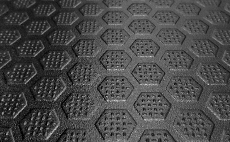 Street workout table with non-slip texture Inferno Metalu Plast