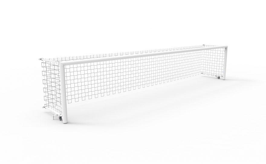 But de torball Maracana 7 x 1.3 m en acier galvanisé Metalu Plast handisport