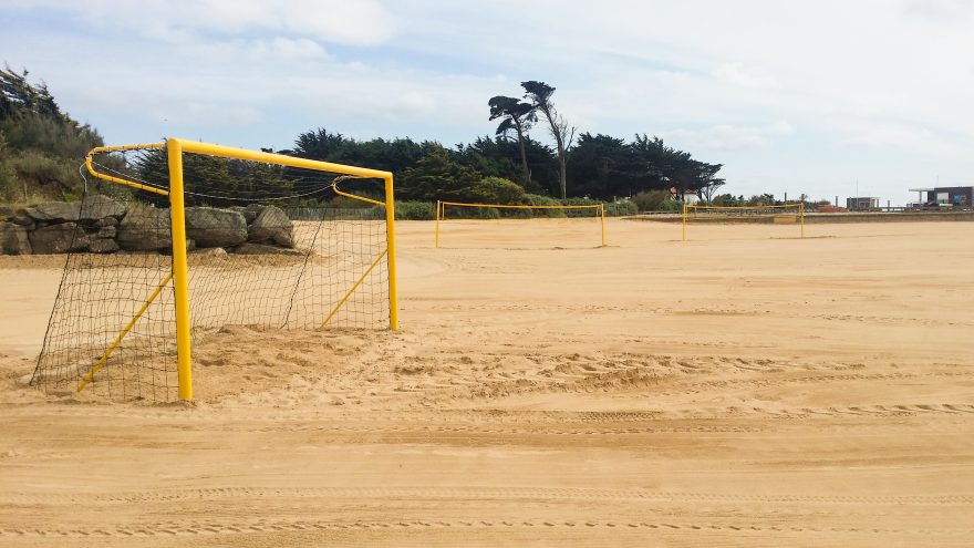 But de beach soccer Metalu Plast plage sport