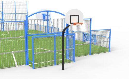 multisport playground option additional basketball goal