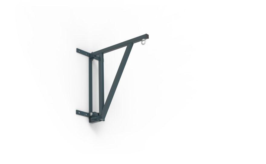 Potence de boxe repliable 70 cm en acier plastifié