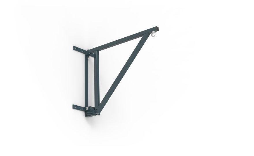 Potence de boxe repliable 90 cm en acier plastifié